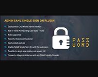 Admin SAML Single Sign On Magento Extension