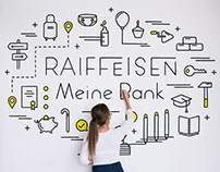 Mural for Raiffeisen