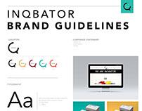 Brand guidelines for Inqbator
