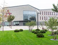 Architecture and interior photoshoot of Gimnasium A+