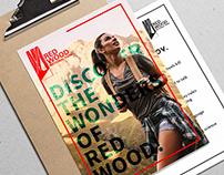 REDWOOD NATIONAL PARK Logo design & Branding