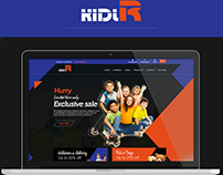 Kidlr Website Demo