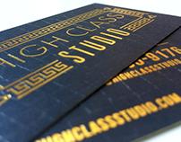 High Class Studio Branding & Print