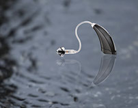 LX Hearing aid | Product Ads / Design