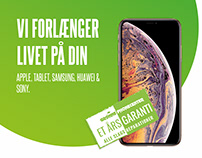 Grønne Phone Center Flyer
