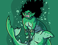 Mermaid's Punishment / Character Design