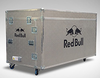 Mesa DJ Red Bull Flight Case