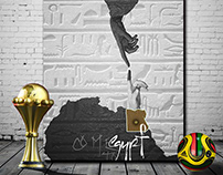 Poster African Nations Cup EGYPT 2019