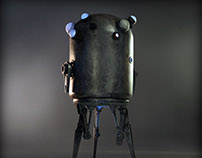Home built scrap Droid – Sentinel 01