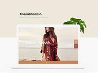 Khanabhadosh - Minimal Fashion E-Commerce Website