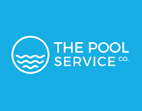 The Pool Service Co. Logo & Website Design