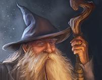 Gandalf the Grey card