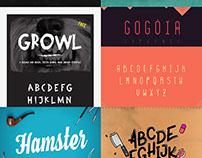40 Amazing Free Fonts For Commercial Use – April 2015