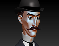 Late 19th Century character designs in zbrush