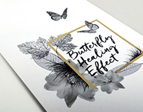 Butterfly Healing Effect branding