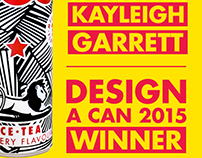 Winner of BOS Design a Can Competition
