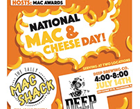 POSTER - NATIONAL MAC & CHEESE DAYS