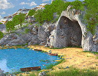 Cave Environment 3d