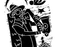 Birmingham Jazz Illustrations