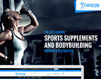T-Nutrition | E-Commerce Website