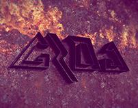 GROG Event Based Company Logo Design
