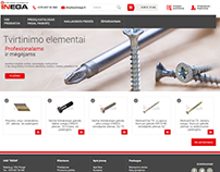 INEGA - e-shop for fasteners
