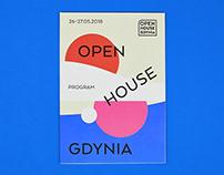 Open House Gdynia / festival identity