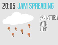 ILLUSTRATED TIMETABLE for the Sustainability Jam