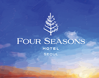 Four Seasons Seoul – Booklet Cover Design