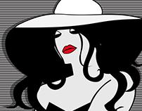 Floppy Hats & Rosy Lips