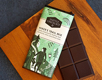 Chocolate bar packaging for Seattle Chocolate