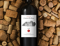 Wine Cristian De Burg