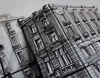 urbansketches - black & white