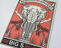 Big 5 Postcards