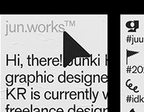Personal Website—jun.works™