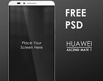 Huawei Ascend Mate 7 (4 Mockup )