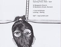 Halfway Exhibition Poster 2014