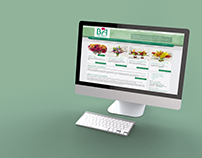 B/A Florist Website Redesign (Group Project)