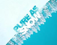 Mono - Pure As Snow / CD Cover Design