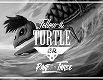 T-shirt Design Part3-Follow The Turtle CR