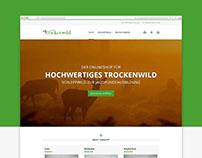 Onlineshop für trockenwild.de