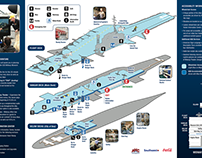 USS Midway Museum Tour Map