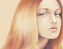 nude beauty I painting 2015