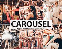 Free Carousel Mobile & Desktop Lightroom Preset