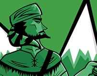 Mountaineer Sports Mascot