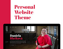 Personal Website Theme