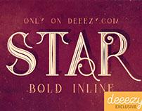 Star Full Inline - Free Font