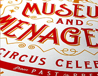 Safe Haven + Ringling Bros.: Letterpress Event Poster