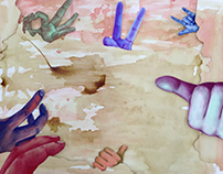 Hands (animation) , 2014