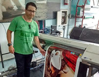 Printed Banner Creation - Criação de Banner impresso
